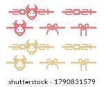 japanese mizuhiki  traditional  ... | Shutterstock .eps vector #1790831579