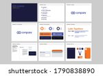 corporate identity template set.... | Shutterstock .eps vector #1790838890