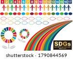 sustainable development goals... | Shutterstock .eps vector #1790844569