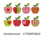 set of diverse apple...   Shutterstock .eps vector #1790895863