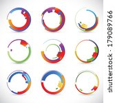 abstract background vector | Shutterstock .eps vector #179089766