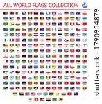 all world flags official... | Shutterstock .eps vector #1790954879