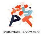 business topics   project...   Shutterstock .eps vector #1790956070