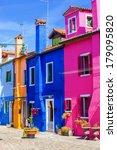 Multicolored Houses In Burano...