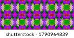 Morocco Retro Texture. Lavende...