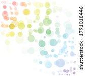 bubbles circle dots unique... | Shutterstock .eps vector #1791018446