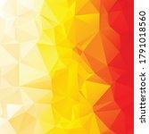 orange polygonal mosaic...   Shutterstock .eps vector #1791018560