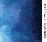 blue polygonal mosaic...   Shutterstock .eps vector #1791018566