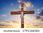 Jesus Christ Crucified In The...