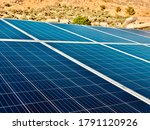 Solar Panels Blue Type...