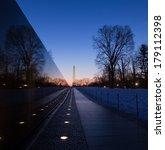Vietnam Veterans Memorial Wall...
