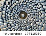 sequence of stones laid out in... | Shutterstock . vector #179115350