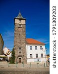 Medieval Black Tower In The...