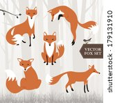fox | Shutterstock .eps vector #179131910