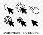 computer mouse click cursor... | Shutterstock .eps vector #1791332243