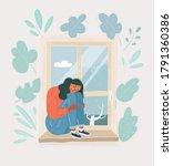 cartoon vector illustration of... | Shutterstock .eps vector #1791360386