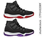 best basketball shoes vector ... | Shutterstock .eps vector #1791432089