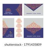 vector ornamental decorative...   Shutterstock .eps vector #1791435809