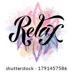 vector illustration of relax... | Shutterstock .eps vector #1791457586