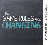 Game Rules Are Changing