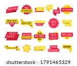 big sale  new offer and best... | Shutterstock .eps vector #1791465329