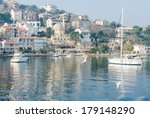 peaceful yachts | Shutterstock . vector #179148290