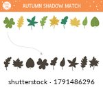 autumn shadow matching activity ... | Shutterstock .eps vector #1791486296
