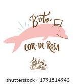 Boto Cor De Rosa. Pink Dolphin. ...