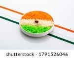 Indian Tricolor Or Tiranga...