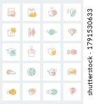 social media story highlight... | Shutterstock .eps vector #1791530633
