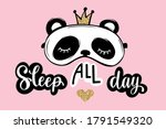 sleep all day. pajama party...   Shutterstock .eps vector #1791549320