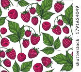 seamless pattern with... | Shutterstock .eps vector #1791634049