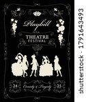 Playbill For A Theatre Festiva...