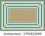 carpet print from fashionable...   Shutterstock .eps vector #1791813389
