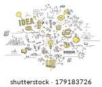 business doodles   Shutterstock . vector #179183726