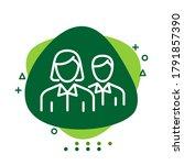 illustration vector graphic of... | Shutterstock .eps vector #1791857390