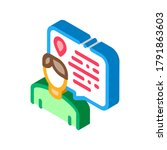 atlas geographic map book icon... | Shutterstock .eps vector #1791863603