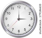 vector clock | Shutterstock .eps vector #179186633