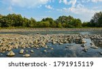 Mountain River In Summer. The...