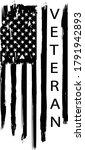 distressed american veteran...   Shutterstock .eps vector #1791942893