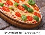 Neapolitan Pizza Margarita On...