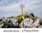 Signpost And Guidepost On The...
