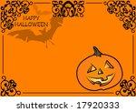 happy halloween | Shutterstock .eps vector #17920333