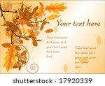 autumn pattern | Shutterstock .eps vector #17920339