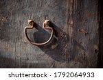 Rusted  Antique Door Knocker O...