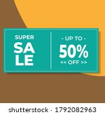 simple sale banner. great... | Shutterstock .eps vector #1792082963
