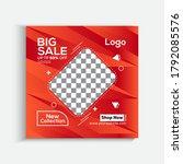 modern promotion square web... | Shutterstock .eps vector #1792085576