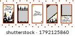 christmas templates set for...   Shutterstock .eps vector #1792125860
