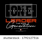 one step up level modern and... | Shutterstock .eps vector #1792127516