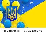 ukraine celebration background... | Shutterstock .eps vector #1792138343